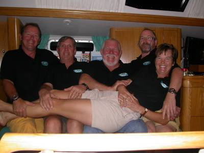 The Crew - Dave, Chip, Ron, Bradley and Kathy
