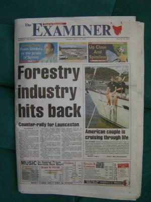 Front page of the Examiner